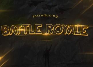 Battle Royale Font