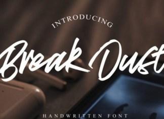 Break Dust Font