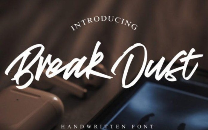 Break Dust Font