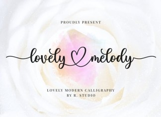 Lovely Melody Font