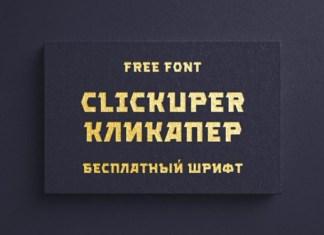 Clickuper Font