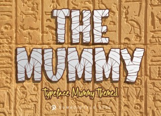 The Mummy Font
