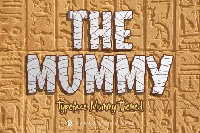 The Mummy Font