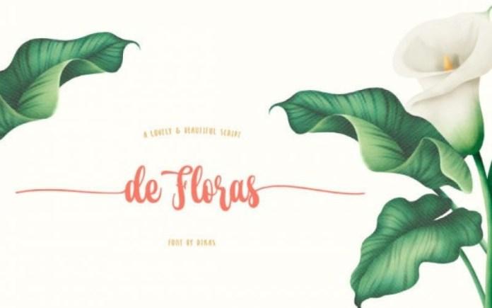 De Floras Font