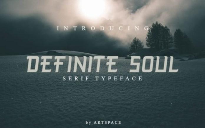 Definite Soul Font
