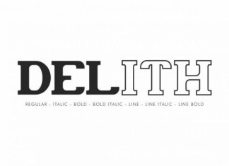 Delith Font