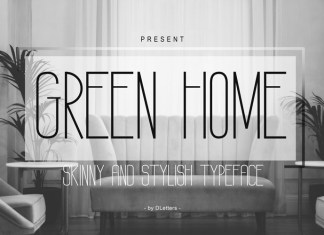 GREEN HOME Font