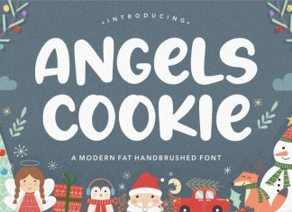 Angels Cookie Font