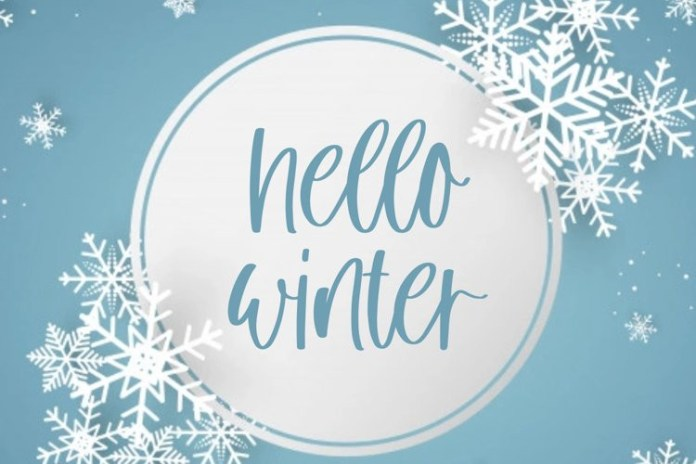 Winter Cloud Font