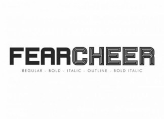 Fearcheer Font