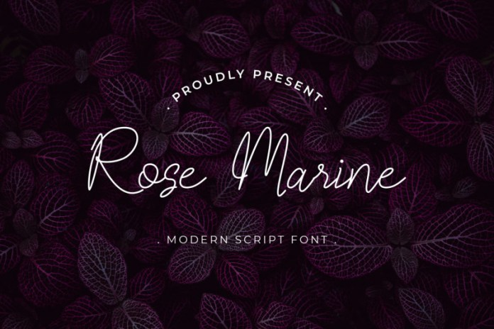 Rose Marine Font