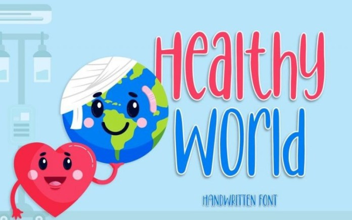 Healthy World Font