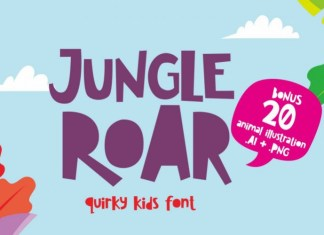 Jungle Roar Font