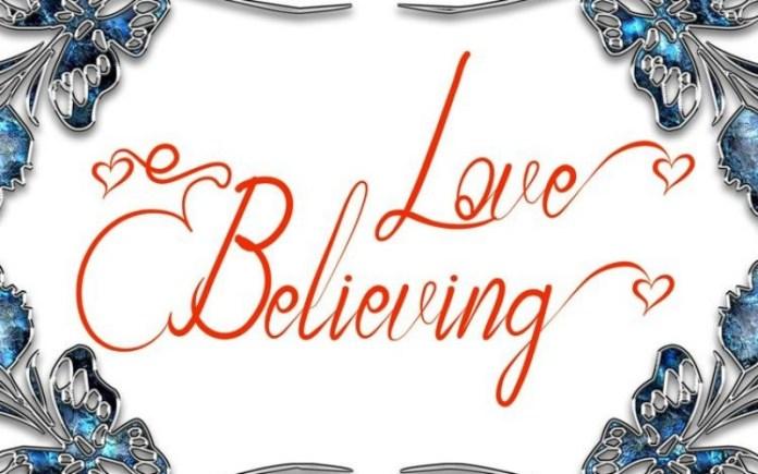 Love Believing Font