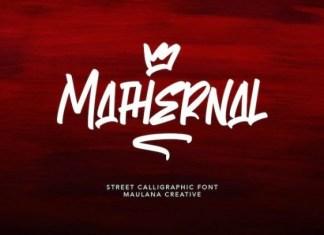 Mathernal Font