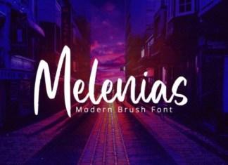 Melenias Font
