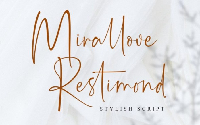 Mirallove Restimond Font