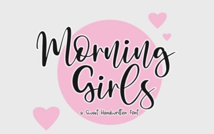 Morning Girls Font