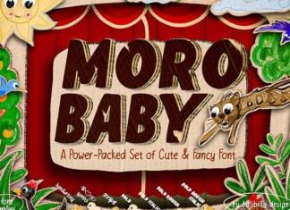 Moro Baby Font