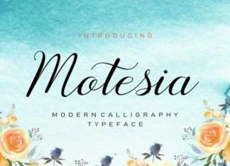 Motesia Font