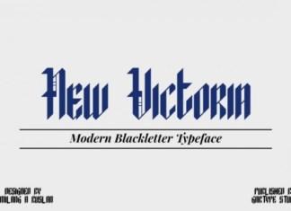 New Victoria Font