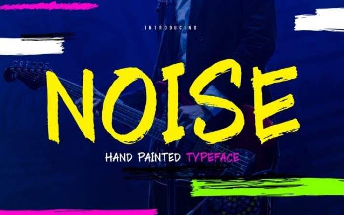 Noise Font