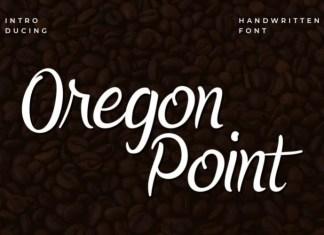 Oregon Point Font