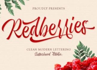 Redberries Font