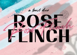Rose Flinch Font