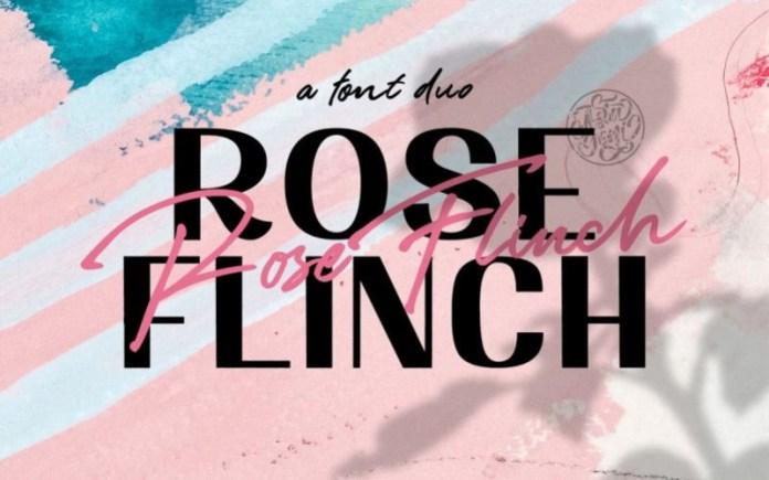 Rose Flinch Font