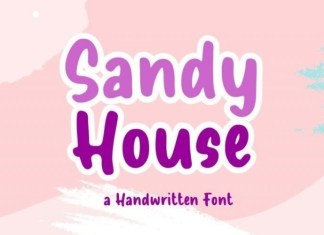 Sandy House Font