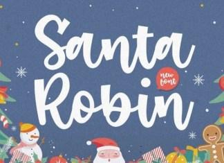 Santa Robin Font