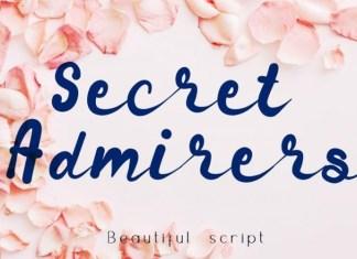 Secret Admirer Font