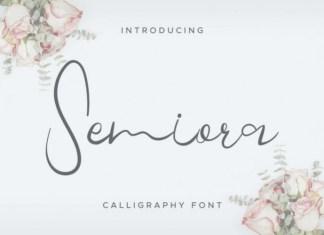 Semiora Font