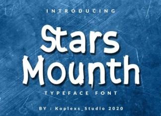 Stars Mounth Font