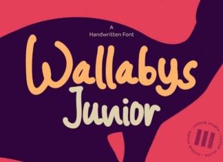 Wallabys Junior Font