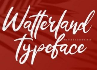 Watterland Font