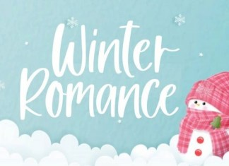 Winter Romance Font
