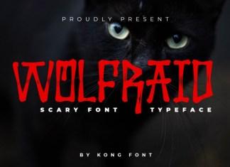 Wolfraid Font