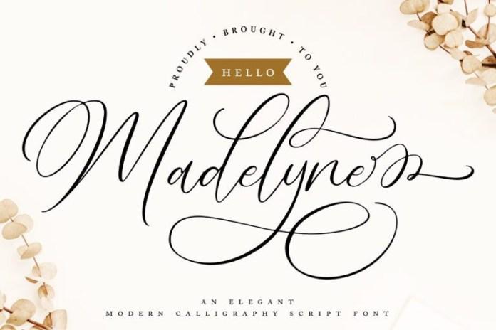 Hello Madelyne Font