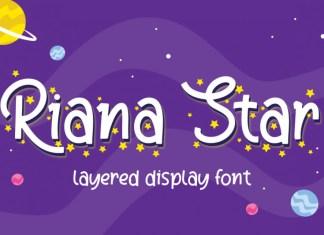 Riana Star Font
