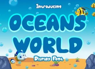 Ocean World Font