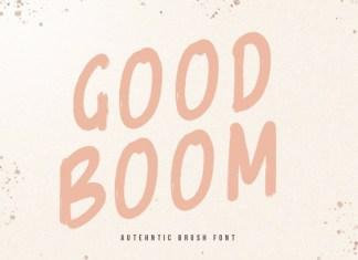 Goodboom Font