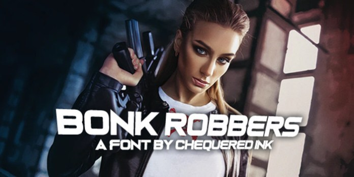 Bonk Robbers Font