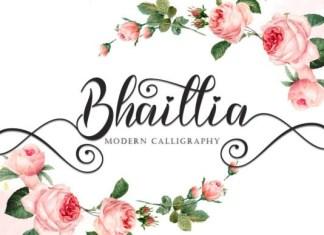 Bhaillia Font