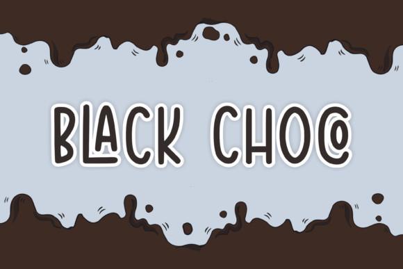 Black Choco Font