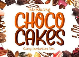 Choco Cakes Font