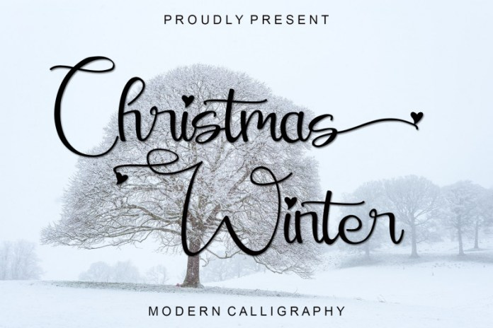 Christmas Winter Font