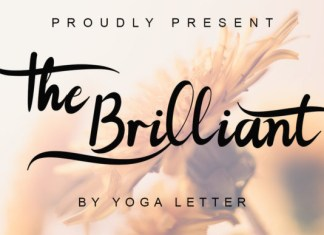 The Brilliant Font