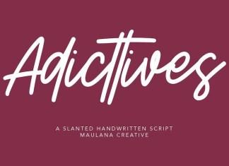 Adicttives Font